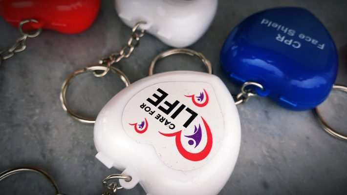 care for life keychain